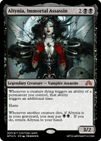Altynia, Immortal Assassin