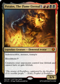 Pyraios, The Flame Eternal