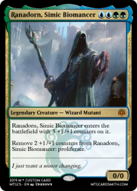 Ranadorn, Simic Biomancer