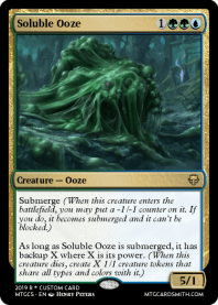 Soluble Ooze