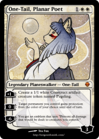 One-Tail, Planar Poet