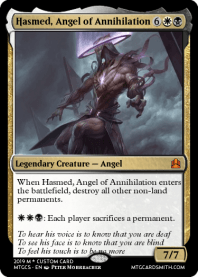 Hasmed, Angel of Annihilation