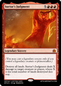 Surtur's Judgment