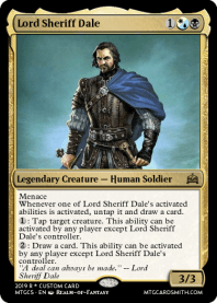 Lord Sheriff Dale