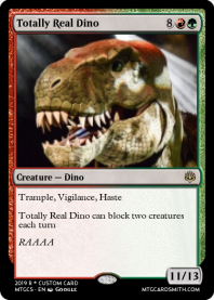 Totally Real Dino
