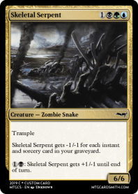 Skeletal Serpent