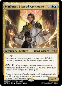 Marlone , Blessed Archmage