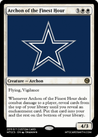 Archon of the Finest Hour