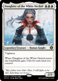 Daughter of the White Orchid