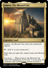 Lumen, The Blessed City
