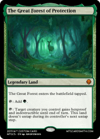 The Great Forest of Protection
