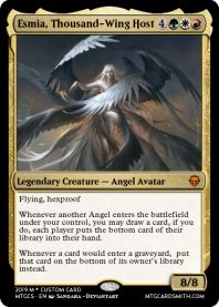 Esmia, Thousand-Wing Host