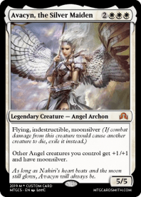 Avacyn, the Silver Maiden