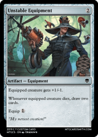 Unstable Equipment