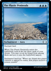 The Plastic Peninsula