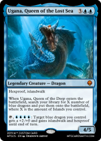 Ugana, Queen of the Lost Sea