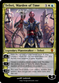 Teferi, Warden of Time