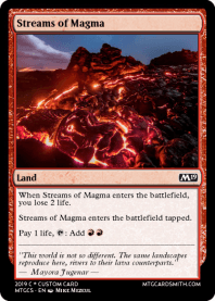 Streams of Magma