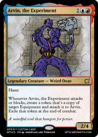 Arvin, the Experiment