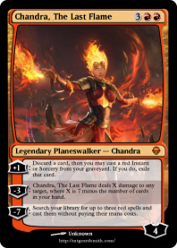 Chandra, The Last Flame