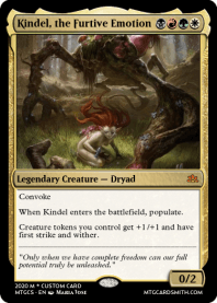 Kindel, the Furtive Emotion