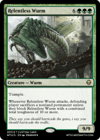 Relentless Wurm