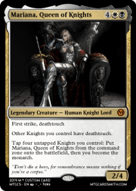 Mariana, Queen of Knights