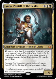 Lyana, Pontiff of the Scales