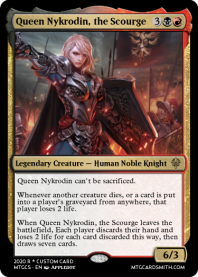 Queen Nykrodin, the Scourge