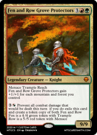 Fen and Row Grove Protectors