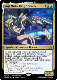 Yugi Muto, King Of Game