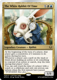 The White Rabbit Of Time
