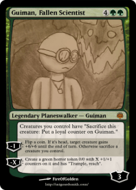 Guiman, Fallen Scientist