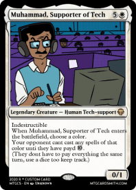 Muhammad, Supporter of Tech