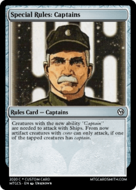 Special Rules: Captains