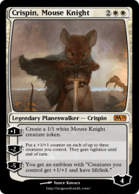 Crispin, Mouse Knight