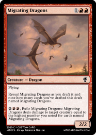 Migrating Dragons