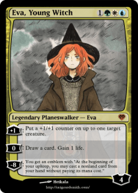 Eva, Young Witch