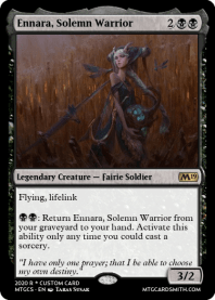 Ennara, Solemn Warrior