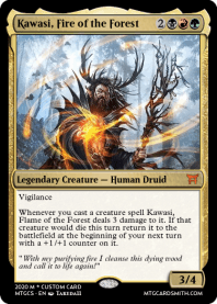 Kawasi, Fire of the Forest