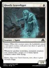 Ghostly Gravedigger