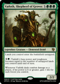 Vadoth, Shepherd of Groves