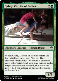 Gabey, Carrier of Babies