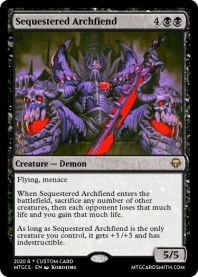 Sequestered Archfiend