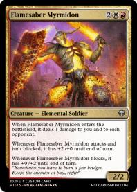Flamesaber Myrmidon