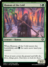 Shaman of the Cold