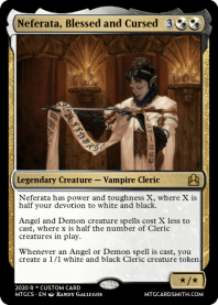 Neferata, Blessed and Cursed