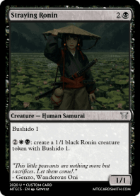 Straying Ronin