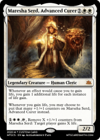Maresha Serd, Advanced Curer