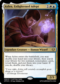 Aylen, Enlightened Adept